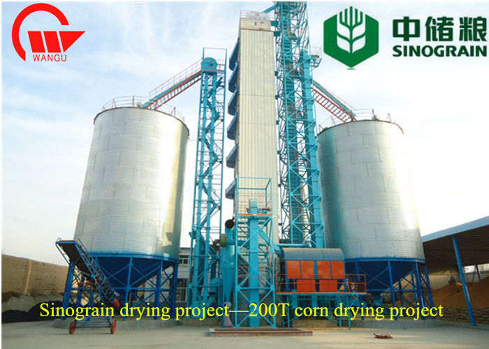 Fuel Saving 1500 Tons Corn Drying Equipment Automatic Controlled ISO Approval